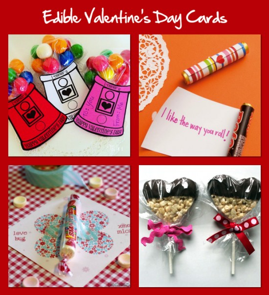 Edible Valentine's Day Cards