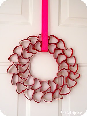 Great Valentine's Day Wreath Idea