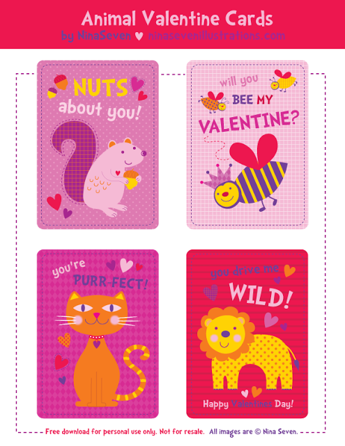 Free Printable Valentines Day Cards The Frugal Female – Kids Printable Valentines Day Cards