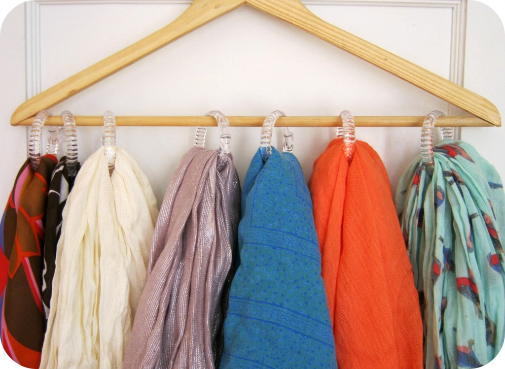 7 Ways To Organize Your Home Using Shower Curtain Hooks