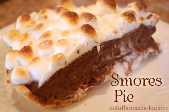 Easy S'mores Pie