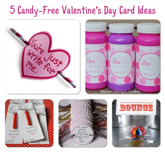 Candy-Free Valentine's Day Card Ideas