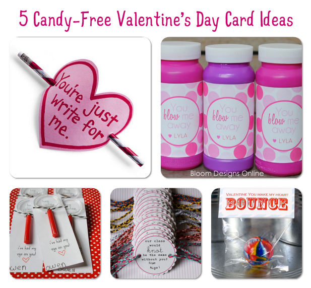 5 CandyFree Valentines Day Card Ideas The Frugal Female – Candy Valentine Card