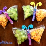 Butterfly Snack Time Bags