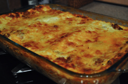 Easy, Cheesy Lasagna