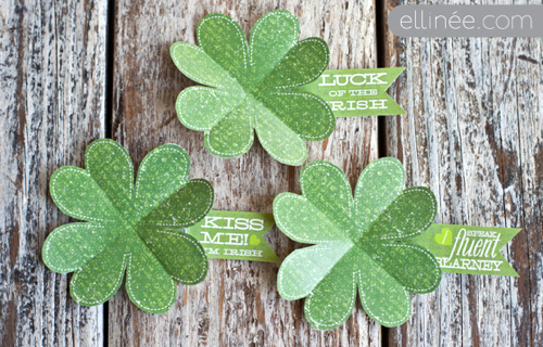 Free Printable Emergency Shamrock for St. Patrick's Day