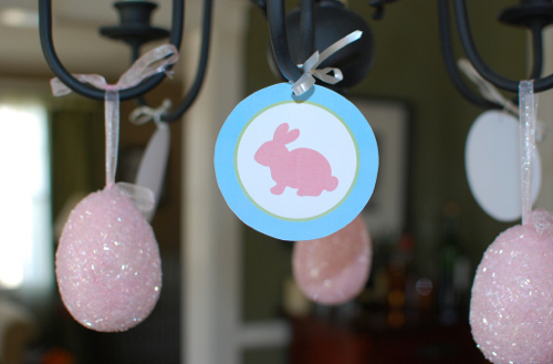 Free Printable Easter Party Decorations