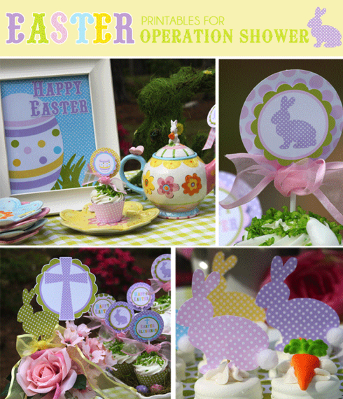 Free Printable Bunny and Religious-Themed Easter Pack