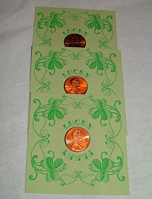 Lucky Penny St. Patrick's Day Favor