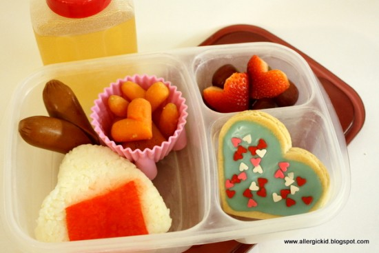 Healthy Heart Valentine's Lunch Idea