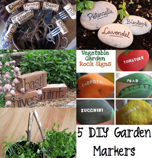 5 Easy Diy Garden Markers Page 2 Of 6 The Frugal Female