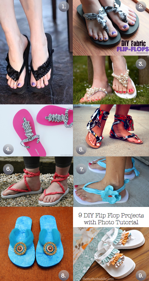 e3597d2266f1 9 DIY Flip Flop Projects With Photo Tutorial - The Frugal Female