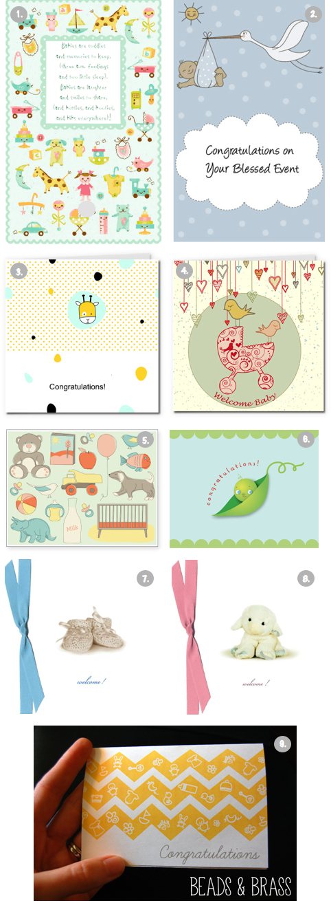 "9 Free ""Welcome Baby"" Printable Cards - The Frugal Female"