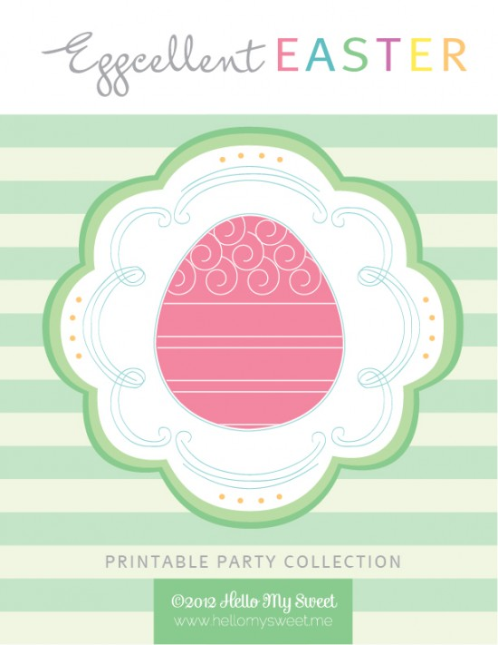 Easter Theme Party Printables