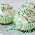 Bailey's Irish Cream Ice Cream Cupcakes