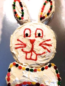 My Easter Bunny Cake