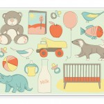 """9 Free """"Welcome Baby"""" Printable Cards"""