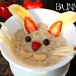 Oatmeal Bunny Breakfast for Easter