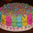 Easy Easter Cake Using Peeps