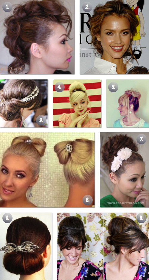 9 Easy Promwedding Updos The Frugal Female
