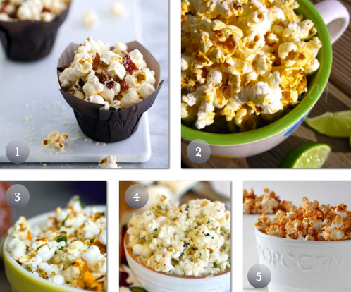 Savory & Spicy Popcorn Recipes