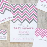 5 Free Pink Baby Shower Party Pack Printables