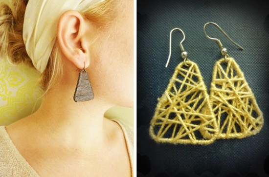 DIY Earrings from Paper clips