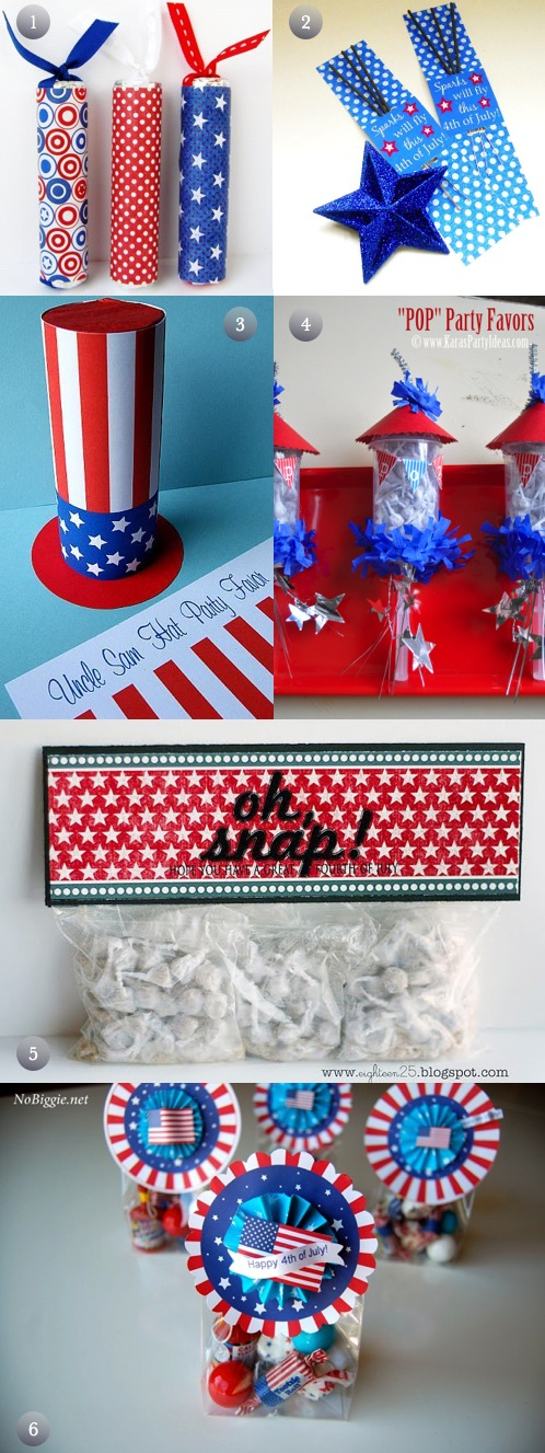 DIY 4th Party Favors