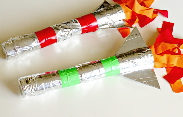 DIY Duct Tape Rockets