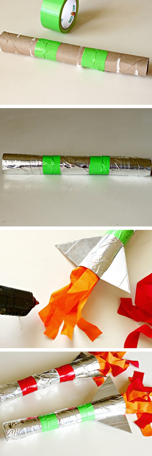 DIY Duct Tape Rocket