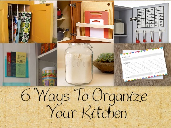 6 Ways To Help Organize & Optimize The Space In Your