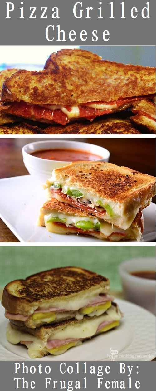 pizza grilled cheese photo