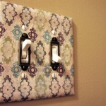 Papered Switch Plate Tutorial