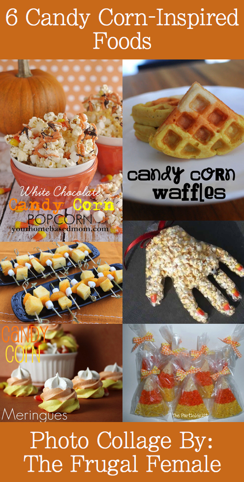 6 Candy Corn Inspired Food