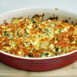 easy cheesy squash bake