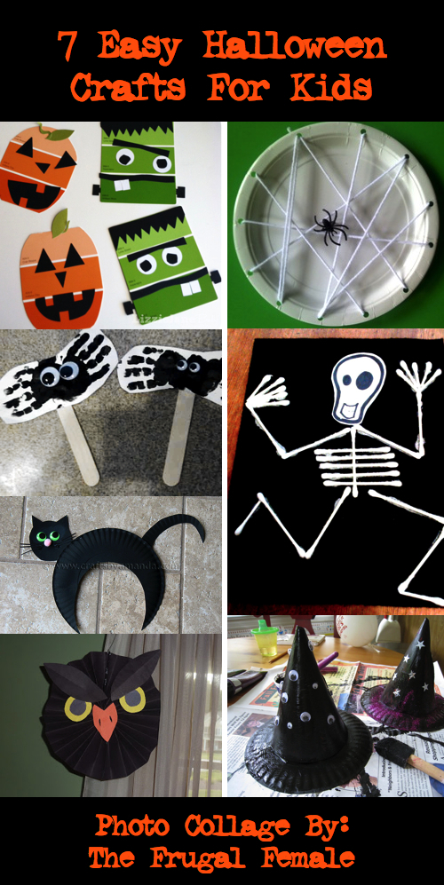 Easy Halloween Crafts for Kids 7