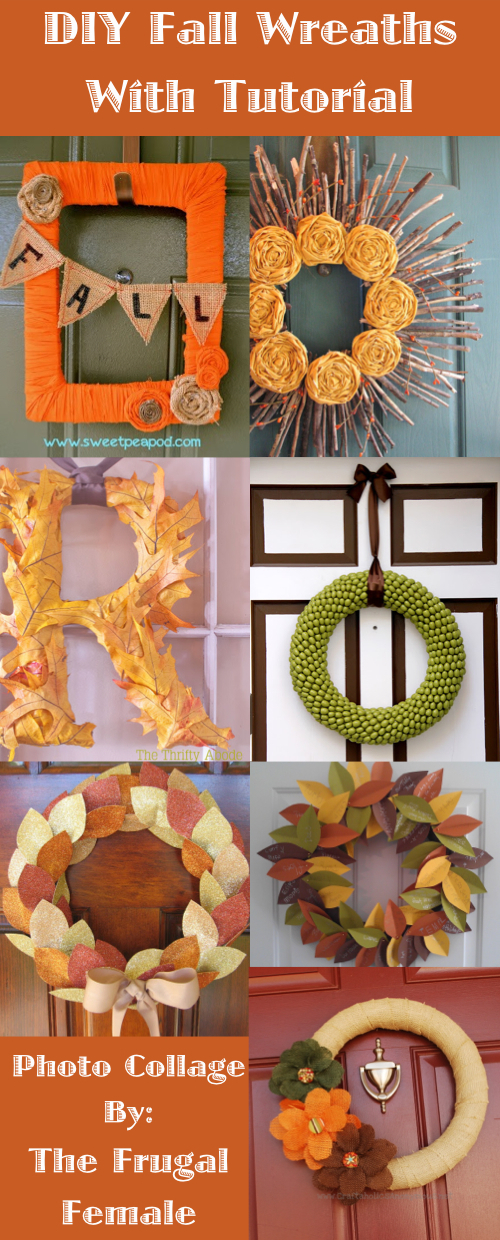 DIY Fall Wreath With Tutorial