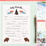 15+ Free Baby Shower Printables